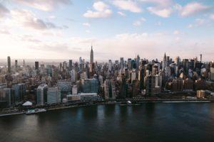 A photo of the New York Skyline